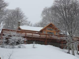 Cabaña Las Pendientes - Patagonia Argentina Casas clásicas de Aguirre Arquitectura Patagonica Clásico