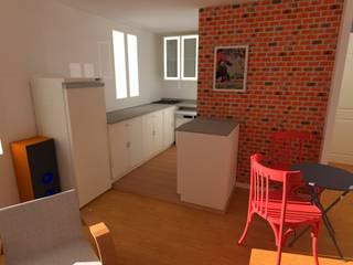 Proposition de réaménagement:  de style  par Reinvente Ta Maison