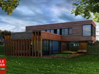 загородный дом Дома в скандинавском стиле от ALEXANDER ZHIDKOV ARCHITECT Скандинавский