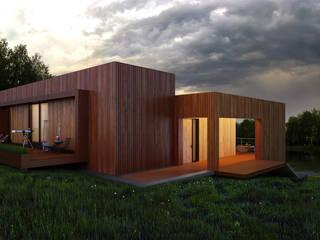 Maisons de style  par ALEXANDER ZHIDKOV ARCHITECT