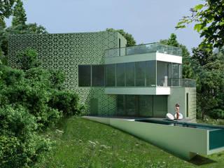 Дом в Гурзуфе Дома в стиле минимализм от ALEXANDER ZHIDKOV ARCHITECT Минимализм