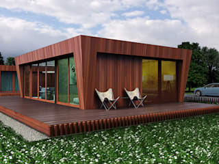 6х9 Дома в скандинавском стиле от ALEXANDER ZHIDKOV ARCHITECT Скандинавский