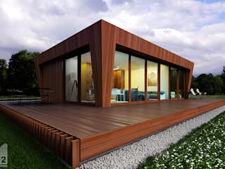 6х9 ALEXANDER ZHIDKOV ARCHITECT Дома в скандинавском стиле
