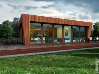 Casas escandinavas por  Aleksandr Zhydkov Architect