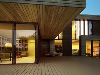 Дом в Зеленогорске Дома в скандинавском стиле от ALEXANDER ZHIDKOV ARCHITECT Скандинавский