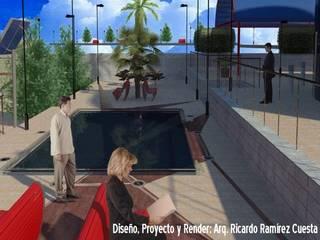 Plaza Principal: Casas de estilo moderno por Ramírez Cuesta Arquitectos