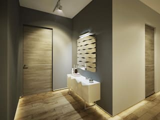 Квартира в современном минимализме Балкон и терраса в стиле минимализм от Polovets design studio Минимализм