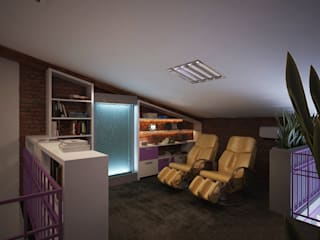 Polovets design studio Media room
