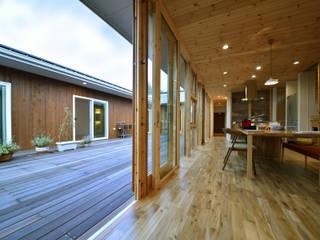 木の家株式会社 Modern living room