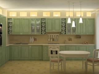 Кухни Кухня в стиле кантри от ООО ПрофЭксклюзив Студия дизайна интерьеров Кантри