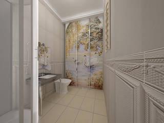 Санузлы Ванная в классическом стиле от ООО ПрофЭксклюзив Студия дизайна интерьеров Классический