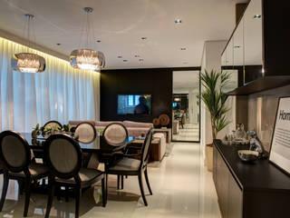 Renato Lincoln - Studio de Arquitetura Phòng ăn phong cách hiện đại