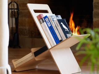 Mueble auxiliar, libreria DEBOOK de debosc Minimalista