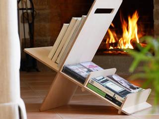 Mueble auxiliar, libreria DEBOOK de debosc Escandinavo
