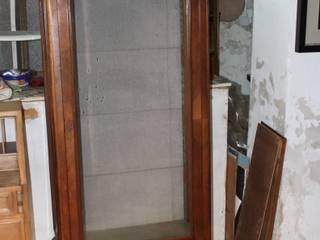 La nueva vida de una antigua vitrina:  de estilo  de Dominique Restauración