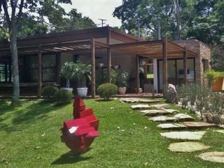 Casas de estilo  por Kika Prata Arquitetura e Interiores. , Rústico