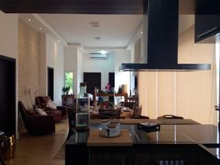Projeto de Interiores - DG Salas de jantar ecléticas por Paula Folim - Arquitetura e Interiores Eclético