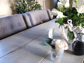 X frame bespoke Tables to order: country  by Dove and Grey, Country