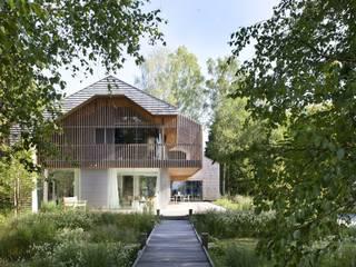 Ansicht Veranda: skandinavische Häuser von architekt stephan maria lang