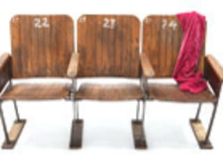 Vintage Cinema Seats par Vintage Archive Industriel