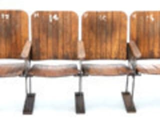 Vintage Cinema Seats Vintage Archive HouseholdHomewares