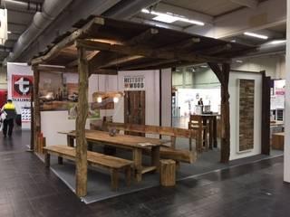 Wohn&Bau Messe in Dortmund:  Terrasse von History Wood