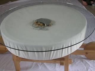 LA TABLE BROUETTE:  de style  par At'M Création