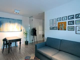 Neostudio Architekci:  tarz Oturma Odası, Modern