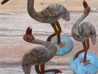 Tin Birds Vintage Archive ArtworkOther artistic objects