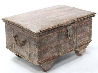 Vintage Wooden Trunk Vintage Archive Living roomSide tables & trays
