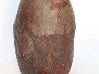 Rustic Wooden Pot Vintage Archive 花園植物盆栽與花瓶