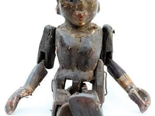 Antique Wooden Puppet Vintage Archive ArtworkOther artistic objects
