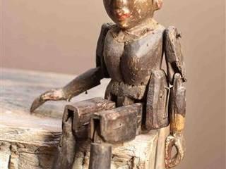 Antique Wooden Puppet Vintage Archive 藝術品其他藝術物件