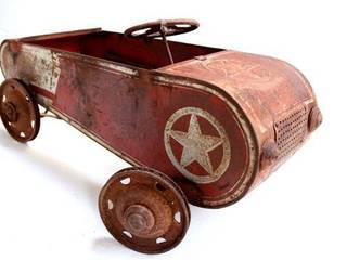 Rare Vintage Pedal Car Vintage Archive Interior landscaping