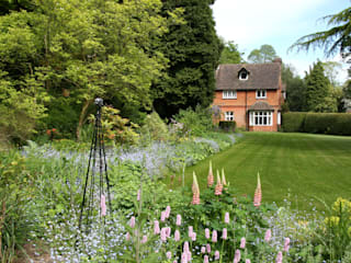 Large Family Garden, West Sussex Jardin rural par Rebecca Smith Garden Design Rural