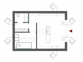 DNAPoint LaClinique Spazi commerciali moderni di Un-real Studio Associato Moderno
