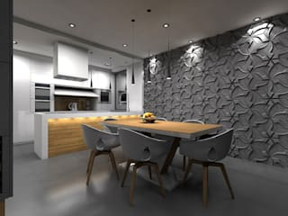 STRUKTURA Łukasz Lewandowski Modern dining room