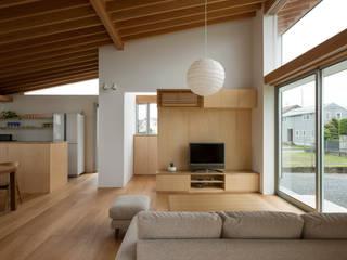 Wohnzimmer von プラスデザイン1級建築士事務所