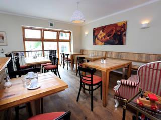 Caféausstattung Sitzbereich:  Gastronomie von Tischlerei Volker Frings