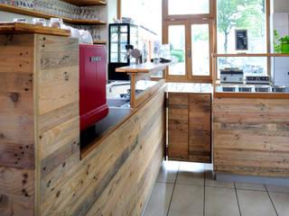 Caféausstattung Bar und Getränkeausgabe:  Gastronomie von Tischlerei Volker Frings