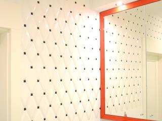 pikowana ściana Eklektyczna łazienka od Studio Modelowania Przestrzeni Eklektyczny