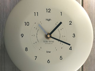 Time & Tide Clock - Cream:   by ashortwalk