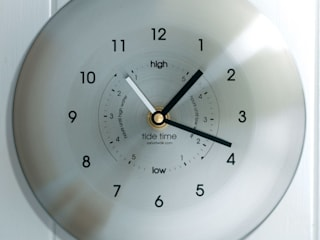 Time & Tide Clock - Stainless:   by ashortwalk