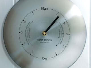 Tide Clock - Stainless:   by ashortwalk