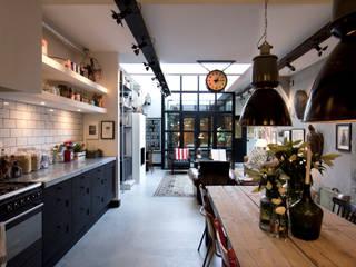 Industrial style kitchen by BRICKS Studio Industrial