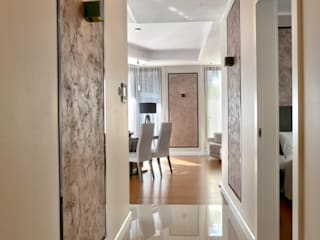 Modern Corridor, Hallway and Staircase by Studio Modelowania Przestrzeni Modern