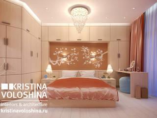 Moderne slaapkamers van kristinavoloshina Modern