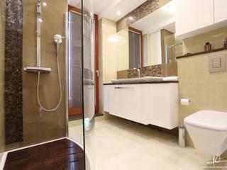 Moderne badkamers van Studio Modelowania Przestrzeni Modern