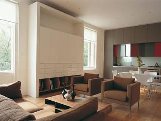 Little Venice Apartment Jonathan Clark Architects Minimalist living room