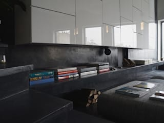 Béton Ciré Murs & Sols modernes par ARTS BETON DESIGN - Créateur de béton haute couture Moderne